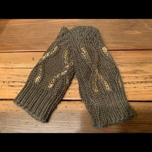 Anthropologie Bettina Fingerless Gloves